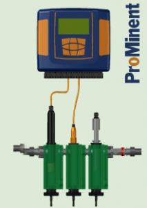 Panel de Medición y Control – DACb Cloro + pH
