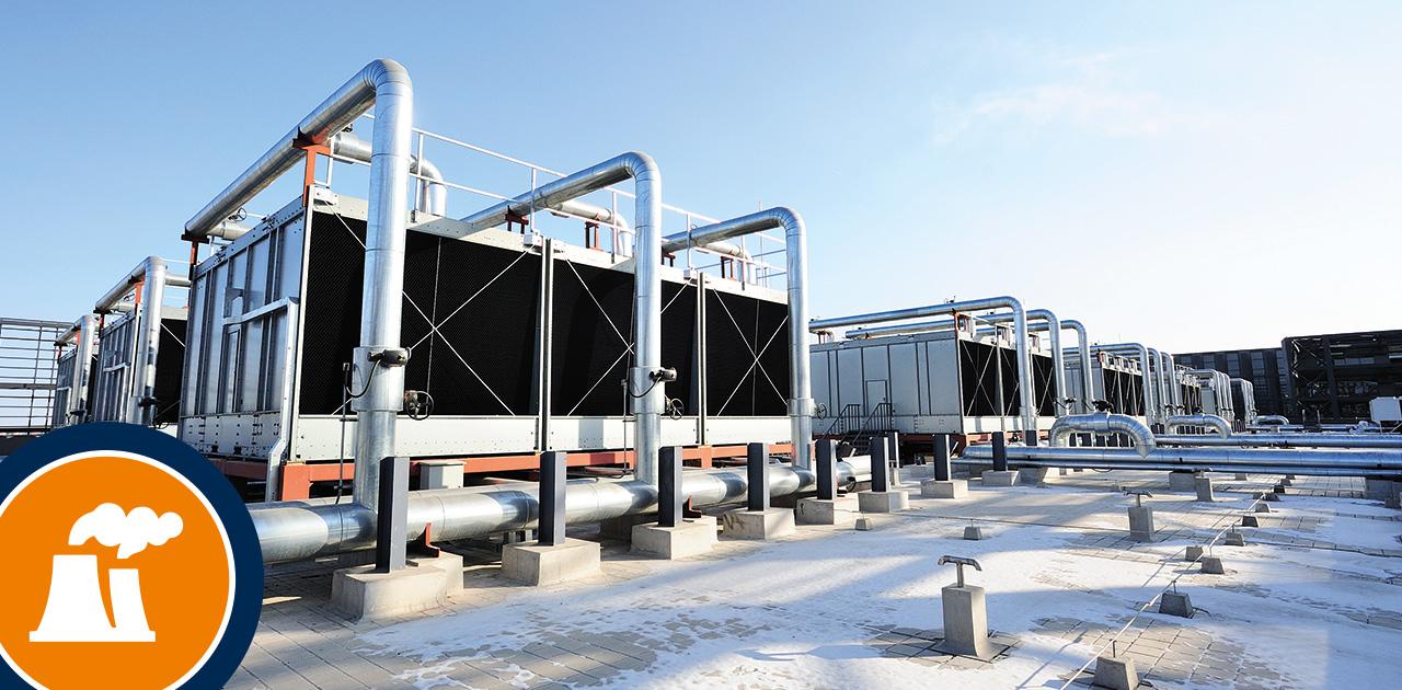 Kühltürme und Verdunstungskühlanlagen